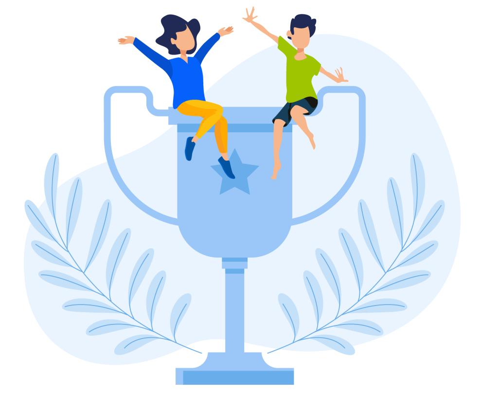LearnDash in drei Kategorien von der Softwareindustrie ausgezeichnet. 2